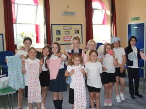 Pictured are last terms after school club sewers showing off their lovely dresses.  I look forward to welcoming lots of them back from September 17th!